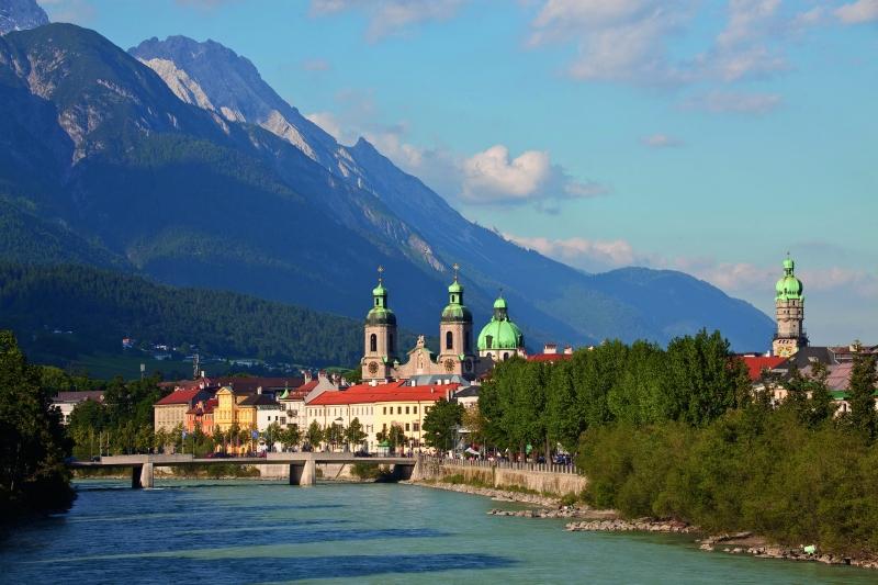 Inn River ©TVB Innsbruck-Christoph Lackner